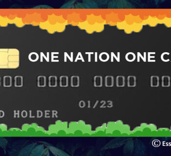 One Nation One Mobility Card Scheme