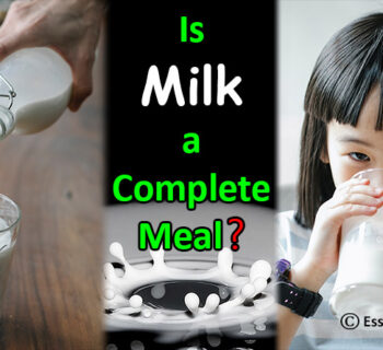 Is Milk a Complete Meal