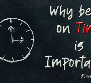 Why being on Time is Important